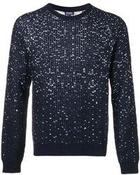 Woolrich - Flecked Rib Knit Sweater - Lyst