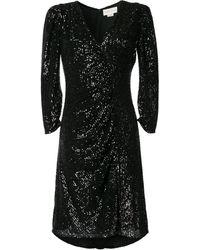 Sachin & Babi Kayla スパンコール ドレス - ブラック