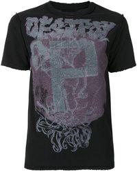Y's Yohji Yamamoto Graphic Print T-shirt - Black