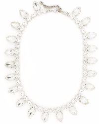 Philipp Plein Crystal-embellished Necklace - Metallic