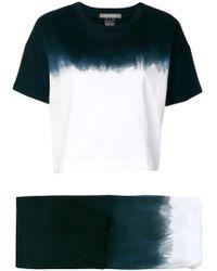 Suzusan - Ensemble pantalon et t-shirt à effet tie-dye - Lyst