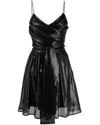 MSGM Коктейльное Платье - Черный