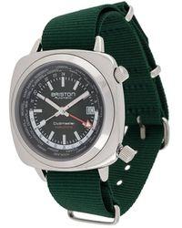 Briston クラブマスター ワールドタイム 42mm 腕時計 - グリーン