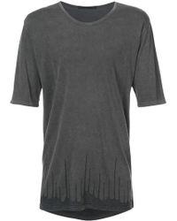The Viridi-anne - Printed Hem T-shirt - Lyst