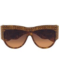 Gucci - オーバーサイズ サングラス - Lyst