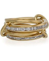 Spinelli Kilcollin - 18k Yellow Gold Lehmus Diamond Ring - Lyst