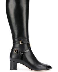 Gucci Сапоги С Логотипом GG - Черный