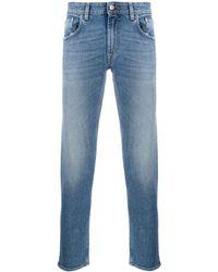 Department 5 Corkey Mid-rise Slim Jeans - Blue