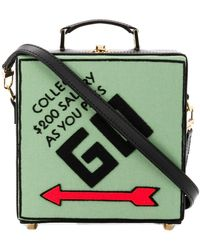 Olympia Le-Tan Clutch Collect Salary - Negro