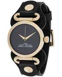Marc Jacobs The Cuff Watch - Black