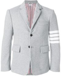 Thom Browne - 4-bar Jersey Sport Coat - Lyst