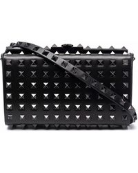 Valentino Garavani Rockstud Alcove Clutch Bag - Black
