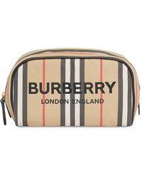 Burberry Icon Stripe Make-up Bag - Multicolour