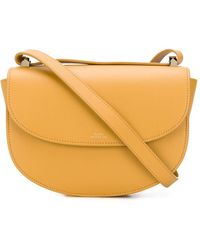 A.P.C. Cross-body Bag - Yellow