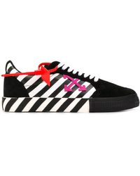 Off-White c/o Virgil Abloh 3.0 Polo Vulcanized Sneakers - Black