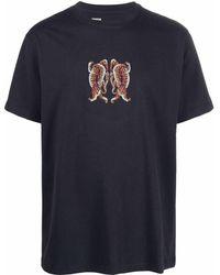 Maharishi Heart Of Tigers Tシャツ - ブルー