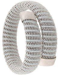 Carolina Bucci - Thread Wrapped Bracelet Stack - Lyst