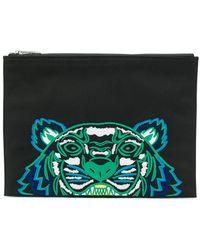8cd4e468 Tiger Clutch Wallet