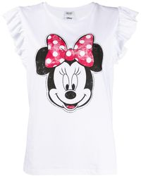 Liu Jo Camiseta Walt Disney Minnie - Blanco