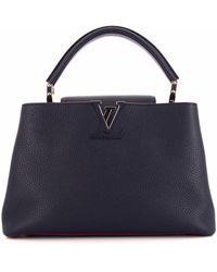 Louis Vuitton 2019 プレオウンド カプシーヌ Mm 2wayバッグ - ブルー