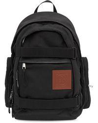 Burberry Рюкзак Nevis С Нашивкой-логотипом - Черный