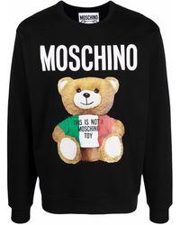 Moschino - Толстовка Teddy Bear С Логотипом - Lyst