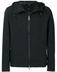 1813e4930215 adidas Originals Multi-fabric Hooded Jacket in Black for Men - Lyst