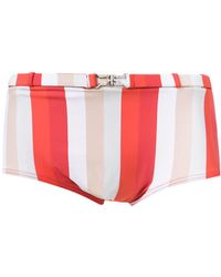 Amir Slama Striped Swim Briefs - Многоцветный