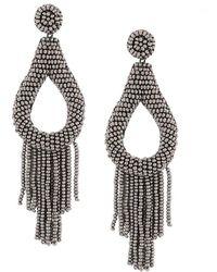 Deepa Gurnani - Embellished Drop Earrings - Lyst