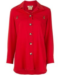 Hermès - Рубашка С Длинными Рукавами И Логотипом Pre-owned - Lyst