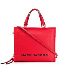 Marc Jacobs Draagtas Met Logo - Rood