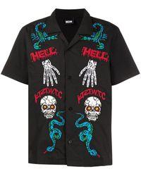 KTZ Monster シャツ - ブラック