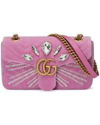 Gucci | Gg Marmont Small Shoulder Bag | Lyst
