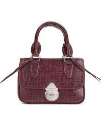 Sarah Chofakian Leather Bag - Pink