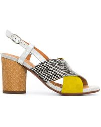 Chie Mihara - Crossover Strap Sandals - Lyst