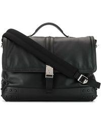 Tod's バックル ビジネスバッグ - ブラック