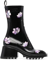 Chloé Резиновые Ботинки Betty - Черный