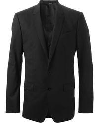Dolce & Gabbana スリーピーススーツ - ブラック