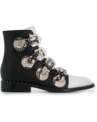 Givenchy - Enkellaarzen Met Bandjes - Lyst