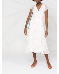 Polo Ralph Lauren - フローラル ラップドレス - Lyst