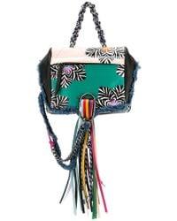 DIESEL - Patterned Tassel Backpack - Lyst