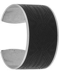 DIESEL - Large Cuff Bracelet - Lyst