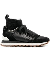 Brunello Cucinelli High-top Sneakers - Black