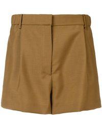 N°21 - Rhinestone-embellished Shorts - Lyst