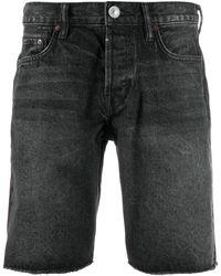 AllSaints デニム ショートパンツ - ブラック