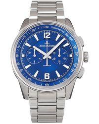 Jaeger-lecoultre Наручные Часы Polaris Chronograph Pre-owned 42 Мм 2020-го Года - Синий