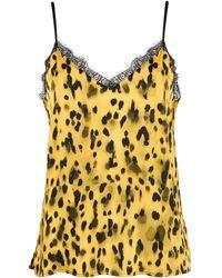 Anine Bing Golden Leo Camisole - Yellow