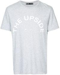 The Upside - Logo T-shirt - Lyst