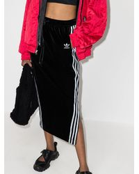 adidas X Angel Chen マキシスカート - ブラック