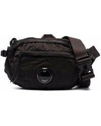 C.P. Company Lens ロゴ ベルトバッグ - ブラック